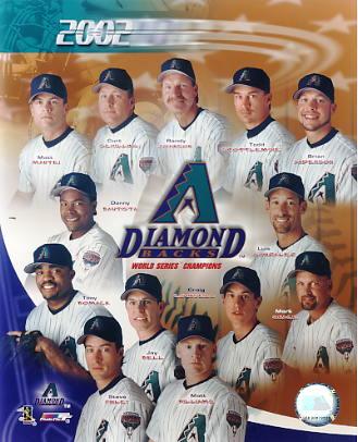 Arizona Diamondbacks 2002