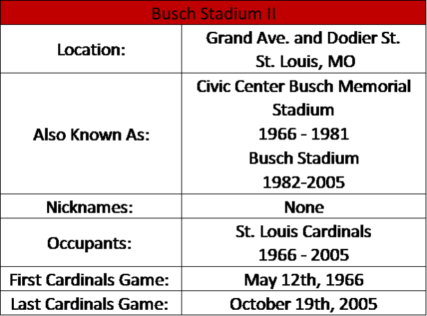 Busch Stadium II 1