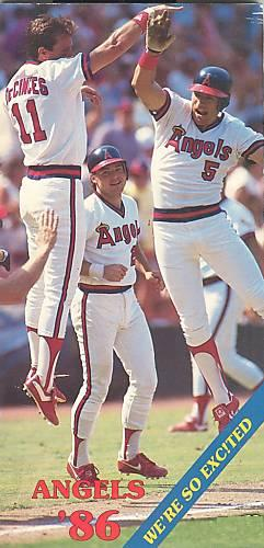 California Angels 1986