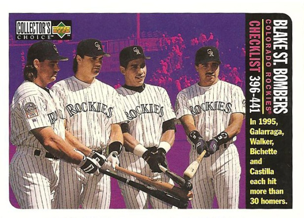 Colorado Rockies 1995