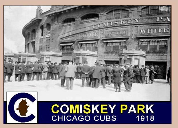 Comiskey Park 1918