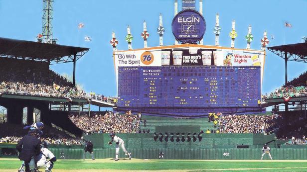 Comiskey Scoreboard