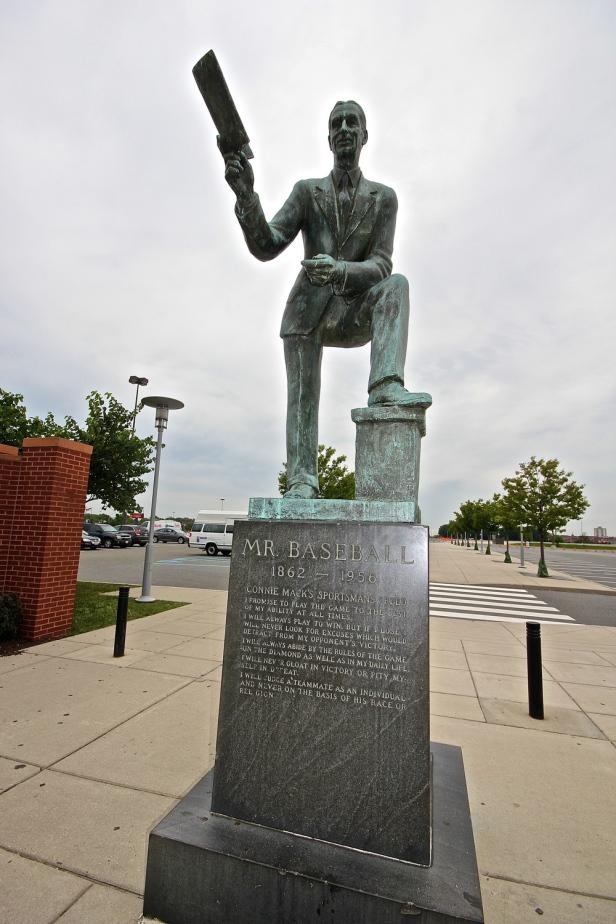 Connie Mack Statue CBP