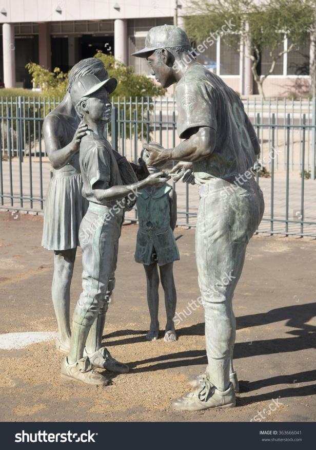 Diamondbacks Statue