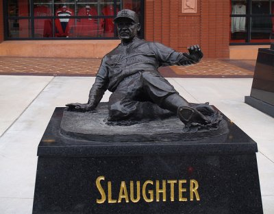 Enos Slaughter Statue