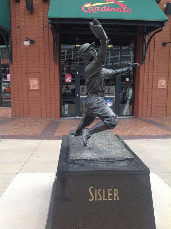 George Sisler Statue