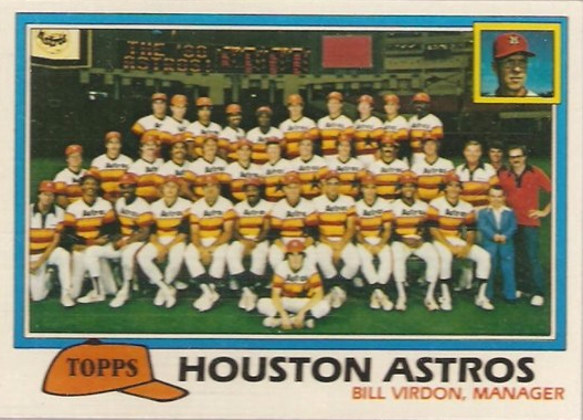 Houston Astros 1981