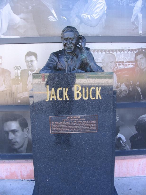 Jack Buck Statue