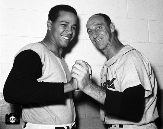 Juan Marichal and Warren Spahn July 3 1963