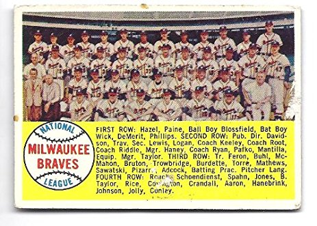 Milwaukee Braves 1958