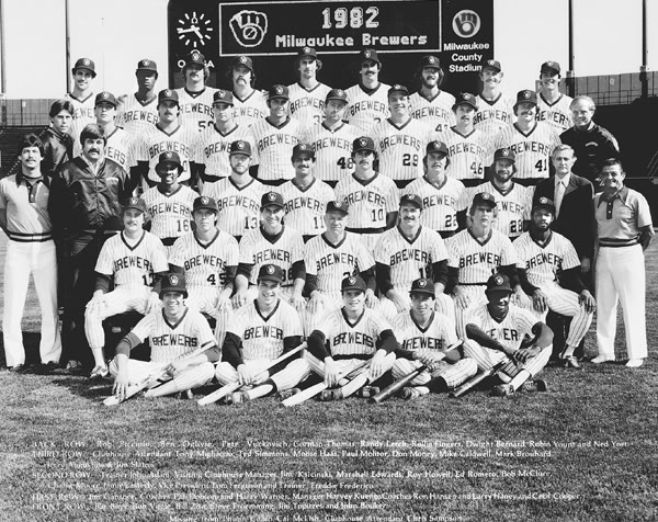 Milwaukee Brewers 1982