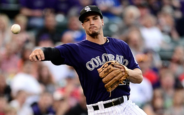 MLB: Texas Rangers at Colorado Rockies