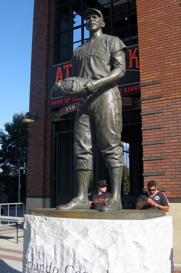 Orlando Cepeda Statue
