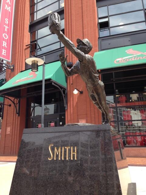 Ozzie Smith Statue