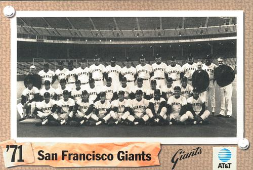 San Francisco Giants 1971