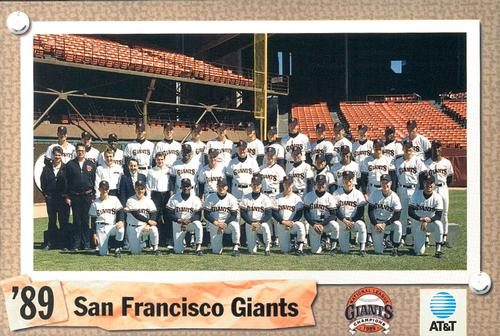San Francisco Giants 1989