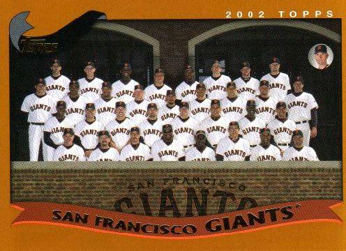 San Francisco Giants 2002
