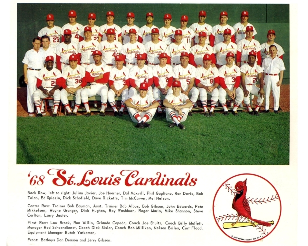 St. Louis Cardinals 1968