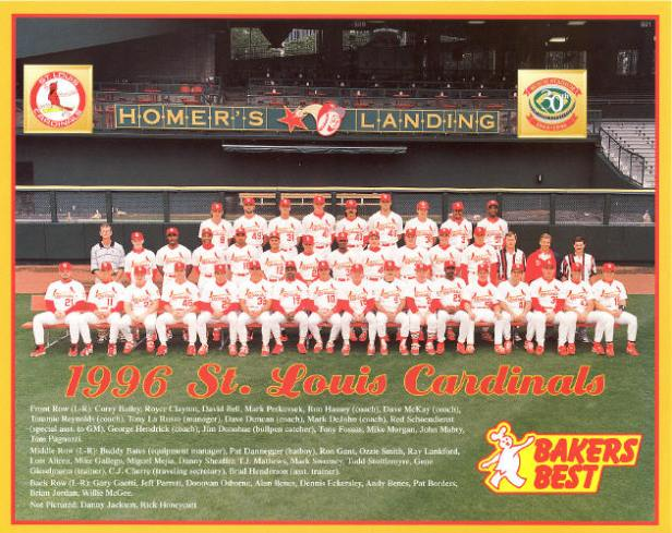 St. Louis Cardinals 1996