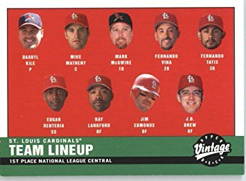 St.Louis Cardinals 2001
