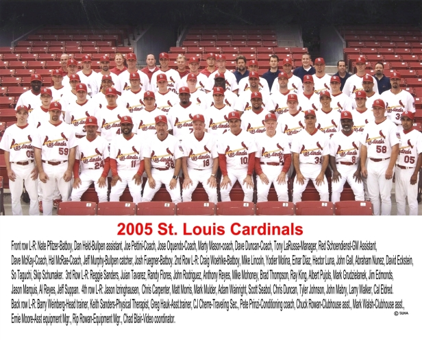 St. Louis Cardinals 2005