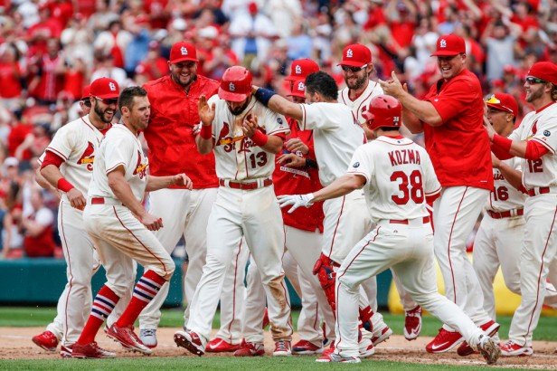 MLB: MAY 02 Pirates at Cardinals
