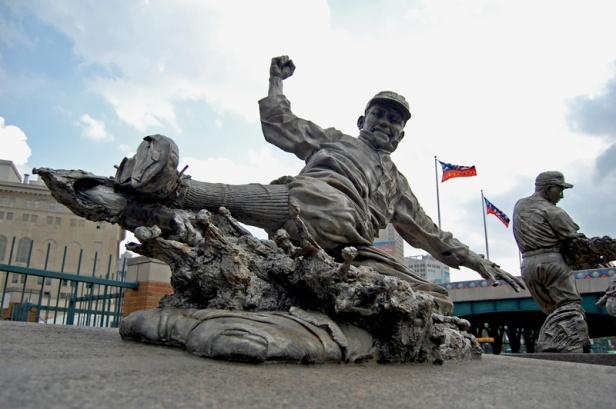 Ty Cobb Statue - Comerica