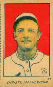 1901 Christy Mathewson