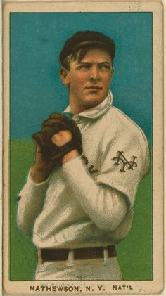 1912 Christy Mathewson
