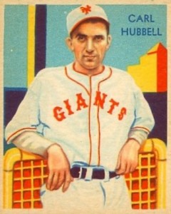 1929 Carl Hubbell
