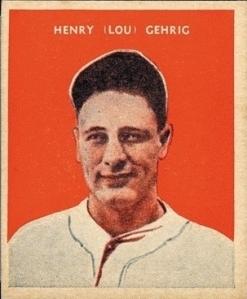 1932 Lou Gehrig