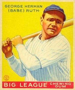 1934 Babe Ruth