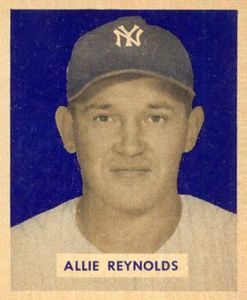 1951 Allie Reynolds 1