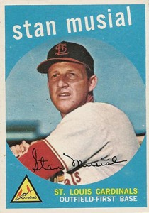 1958 Stan Musial