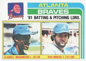 Atlanta Braves 1982