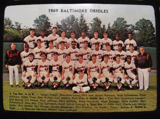 Baltimore Orioles 1969