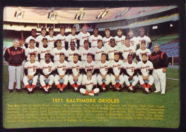 Baltimore Orioles 1971