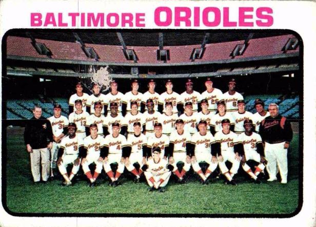 Baltimore Orioles 1973
