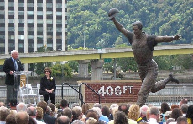 Bill Mazeroski Statue