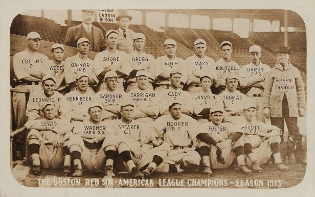 Boston Red Sox 1915