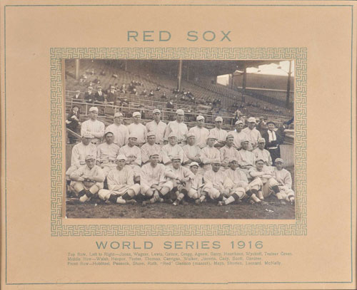 Boston Red Sox 1916