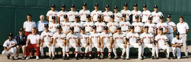 Boston Red Sox 1990