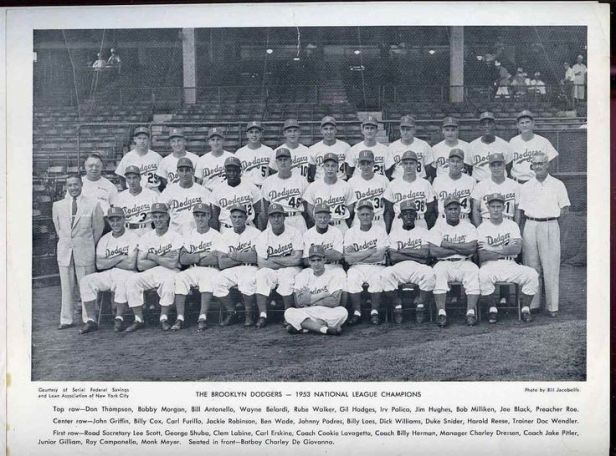Brooklyn Dodgers 1953