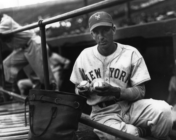 Carl Hubbell two Baseballs