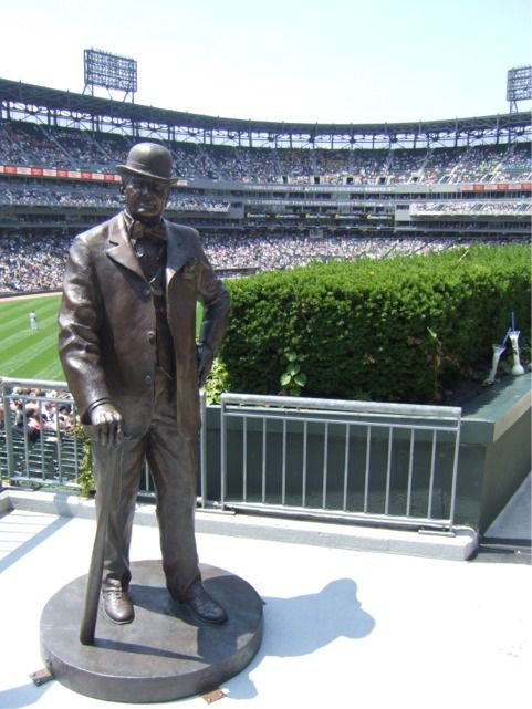 Charles Comiskey Statue