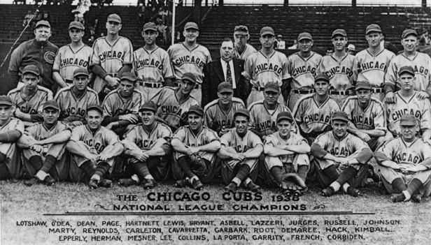 Chicago Cubs 1938