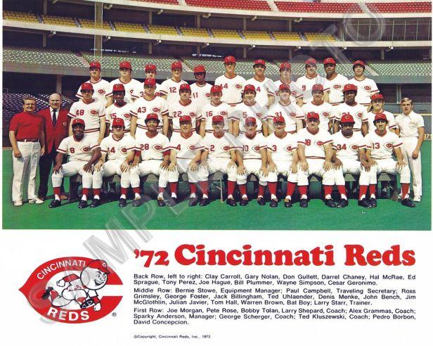 Cincinnati Reds 1972