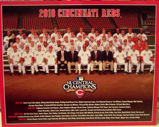 Cincinnati reds 2010