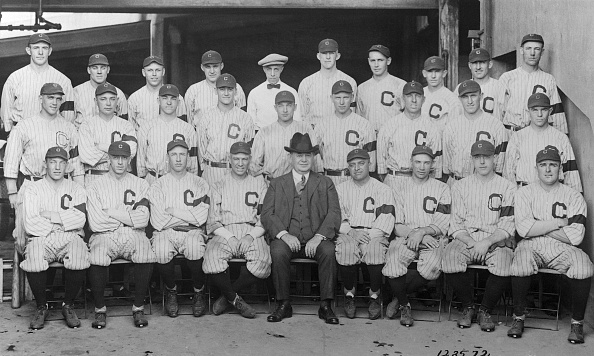1920 Cleveland Indians Baseball Team
