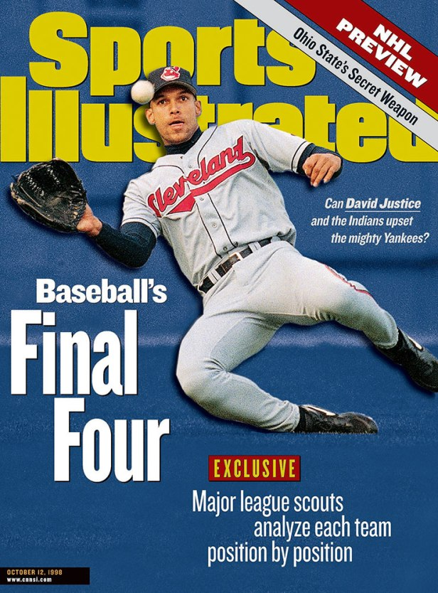 Baseball's Final Four: Can David Justice and the Indians Upset the Mighty Yankees?